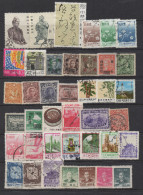 Q146. CHINE / CHINA- OLDER AND MODERN STAMPS LOT X 40 DIFFERENT. - China