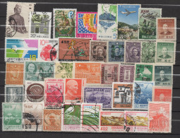Q152. CHINE / CHINA- OLDER AND MODERN STAMPS LOT X 40 DIFFERENT. - China
