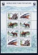 WWF W.W.F. Vietnam Viet Nam MNH Perf Sheetlet 2000 : Sao La (Ms827B) - W.W.F.