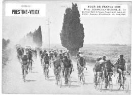 PUBLICITE PRESTINE VELOX TOUR DE FRANCE 1928  PERPIGNAN  MARSEILLE HONORE LEGRAS CHOUILLY   **    RARE A SAISIR ** - Advertising