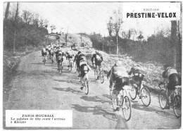 PUBLICITE PRESTINE VELOX PARIS ROUBAIX  ? 1928  AVANT ARRIVEE AMIENS /HONORE LEGRAS CHOUILLY   **    RARE A SAISIR ** - Advertising