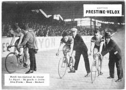 PUBLICITE PRESTINE VELOX  DEPART DE VITESSE ? 1928   /HONORE LEGRAS CHOUILLY   **    RARE A SAISIR ** - Advertising