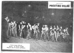 PUBLICITE PRESTINE VELOX  VELODROME D HIVER 1928   /HONORE LEGRAS CHOUILLY   **    RARE A SAISIR ** - Advertising
