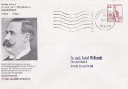 Germany Private Postal Stationary Hoffa, Albert Used München 1988 (SKO14-2e) - Private Covers - Used
