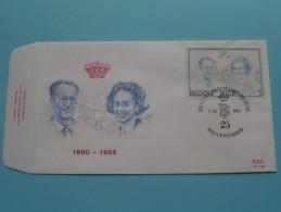 1960 - 1985 DYNASTIE ( F.D.C. P 778 ) OOSTAKKER 7-12-85 ( Zie Foto ) ! - FDC