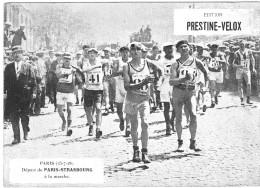 PUBLICITE PRESTINE VELOX  PARIS STRASBOURG 1928  /HONORE LEGRAS CHOUILLY   **    RARE A SAISIR ** - Advertising