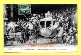 CPA 78 VERSAILLES Voiture Du Mariage De Napoléon 1er Avec Joséphine  1914 - Versailles (Château)