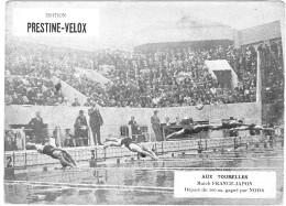 PUBLICITE PRESTINE VELOX AUX TOURELLES ? 1928 FRANCE JAPON /HONORE LEGRAS CHOUILLY   **    RARE A SAISIR ** - Advertising