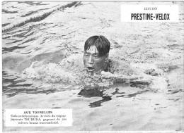 PUBLICITE PRESTINE VELOX AUX TOURELLES ? 1928 GAGNE TSURUDA V /HONORE LEGRAS CHOUILLY   **    RARE A SAISIR ** - Advertising