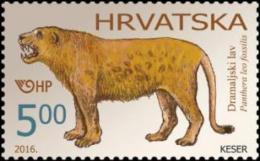 Croatia 2016, Paleontology, Dramaljsko Lions, MNH /** - Fossils