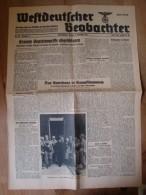 Westdeutscher Beobachter, Köln-Stadt, 19. Jahrgang, Nr. 480, Abend Ausgabe 20. Sept. 43, Erneute Sowjetangriffe Abgeschl - Zeitungen & Zeitschriften