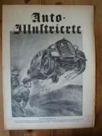 Auto - Illustrierte, Versuchsfahrer, Ca. 30er Jahre !! - KFZ