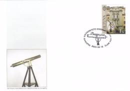 Litauen, 2003, 818, 250 Jahre Astronomisches Observatorium Der Universität Vilnius. FDC - Lithuania