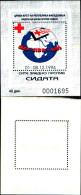 83895) Macedonia-1994-settimana Della Croce Rossa -BF -n.8-cat-5 Euro Nuovo - Macedonia