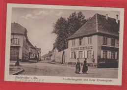 Bischweiler  --  Apothekergasse Und Ecke Kronengasse - Bischwiller
