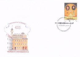 Litauen, 2004, 841, 425 Jahre Universität Vilnius. FDC - Lithuania