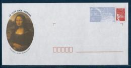 =QDB : PAP Marianne De Luquet - 37 - AMBOISE. Le Clos Lucé, La Joconde. ( N° 888 Lot 194/454/02 ) . Neuf - Enteros Postales