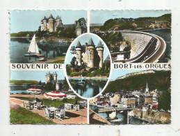 Cp , 19 , BORT LES ORGUES , Multi Vues , Vierge , Souvenir De Bort Les Orgues - Autres Communes