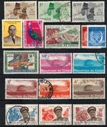 KONGO Kinshasa - Lot 17 Verschiedene  Used - Republik Kongo - Léopoldville (1960-64)