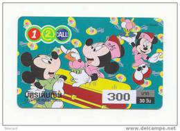 Télécarte Disney Thailand. Phonecard Disney Thailand - (2) - Disney