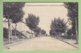 ORADOUR SUR VAYRES : Avenue De La Gare. 2 Scans. - Oradour Sur Vayres