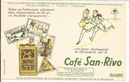 BUVARD CAFES SAN RIVO - Blotters