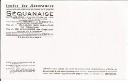 BUVARD ASSURANCES LA SEQUANAISE - Blotters