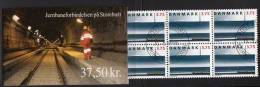 DENMARK 1997 Great Belt Railway Link Booklet  S89 With Cancelled Stamps.  Michel 1150MH, SG SB181 - Booklets