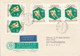 EISHOCKEY-ICEHOCKEY-HOCKE Y SUR GLACE-HOCKEY SU GHIACCIO, HUNGARY, 19.., Special Stamp/postmark !! - Hockey (su Ghiaccio)