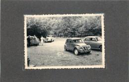 HAYBES SUR MEUSE(meuse) - Moulin Labotte;voitures Deux Chevaux,peugeot ,trois Photos  Années 50 Format 8,7x6,2cm. - Lieux