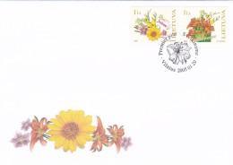 Litauen, 2005, 866/67, Grußmarken. FDC - Litouwen