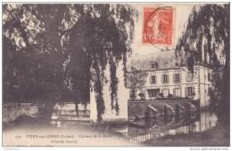 45 VITRY AUX LOGES CHATEAU DE LA MOTTE OUEST CPA BON ÉTAT - Francia