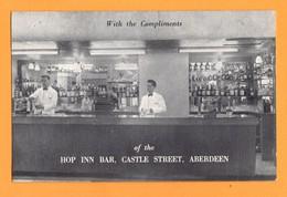 United Kingdom Royaume Uni Scotland Ecosse Aberdeen Castle Street Hop Inn Bar - Aberdeenshire
