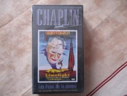 Cassette Video CHARLOT Les Feux De La Rampe (k7 Neuve Sous Blister)charlie Chaplin - Classiques