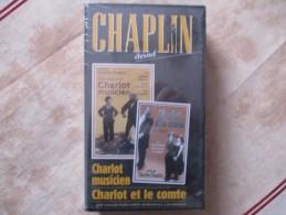 Cassette Video CHARLOT Charlt Musicien + Charlot Et Le Comte (k7 Neuve Sous Blister)charlie Chaplin - Classiques