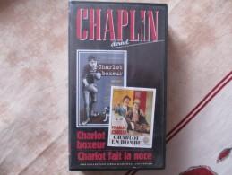 Cassette Video CHARLOT Charlot Boxeur+charlot Fait La Noce /charlie Chaplin - Classiques
