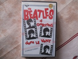 Cassette Video THE BEATLES 4 Garcons Dans Le Vent ( A Hard Day's Night ) - Classiques