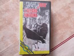 Cassette Video FILM ITALIEN TOTO IN L ALLEGRO FANTASMA AVOFILM 1990 - Autres