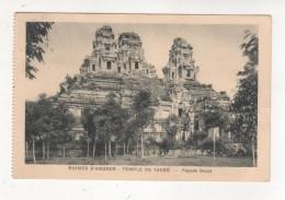 CARTE POSTALE 1931 RUINES TEMPLE DE TAKEO  ANGKOR  Façade Ouest - Cambodia