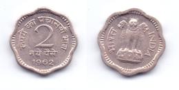 India 2 Naye Paise 1962 C - India
