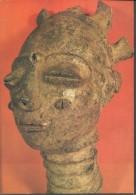 ! - Côte-d'Ivoire - Krinjabo (Anyi) - Tête De Figurine Funéraire En Terre Cuite - Côte-d'Ivoire