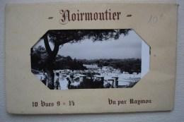 Carnet De 10 Cartes Postales  ILE DE NOIRMOUTIER DATE DE JUILLET 1955 - Ile De Noirmoutier