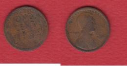 USA  --  1  Cent 1916  --  état  B - 1909-1958: Lincoln, Wheat Ears Reverse