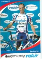 Igor ASTARLOA . 2 Scans. Cyclisme. Valsir - Cycling