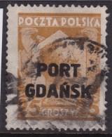 Port Gdansk 1928 Fi 16b Used - Ocupaciones