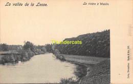 CPA  VALLEE DE LA LESSE NELS SERIE 8 NO 115 LA RIVIERE A WANLIN - Houyet