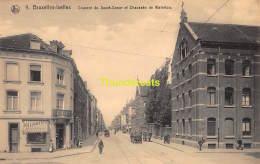 CPA BRUXELLES IXELLES COUVENT DU SACRE COEUR ET CHAUSSEE DE WATERLOO - Ixelles - Elsene