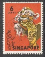 Singapore. 1968-73 Definitives. 6c Used. SG 104 - Singapore (1959-...)