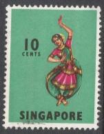 Singapore. 1968-73 Definitives. 10c Used. P14 SG 105 - Singapore (1959-...)