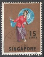 Singapore. 1968-73 Definitives. 15c Used. SG 106 - Singapore (1959-...)